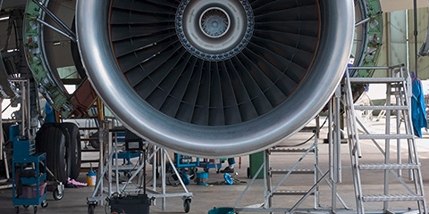 Aerospace manufacturing industry